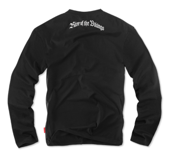 Longsleeve Rise of the Vikings M / Fekete