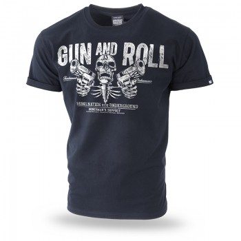 Gun and Roll póló 3XL / Sötétkék