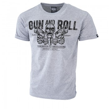 Gun and Roll póló 3XL / Fekete