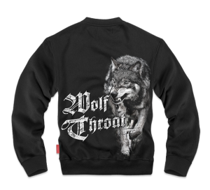 Classic Wolf Throat pulóver M / Fekete