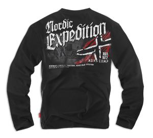 Longsleeve Expedition L / Fekete