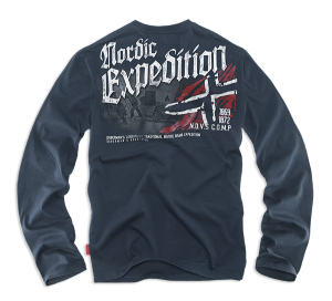 Longsleeve Expedition M / Sötétkék